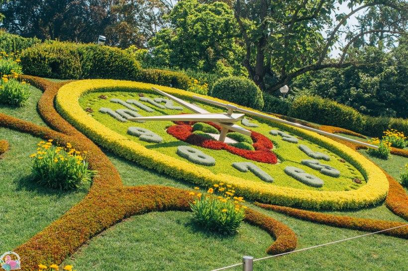 L'horloge fleurie in Geneva